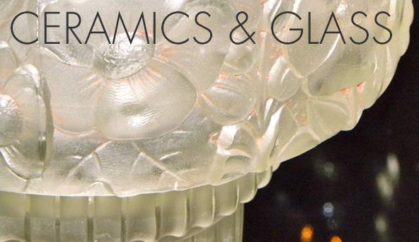 Art Deco Collection Ceramics & Glass