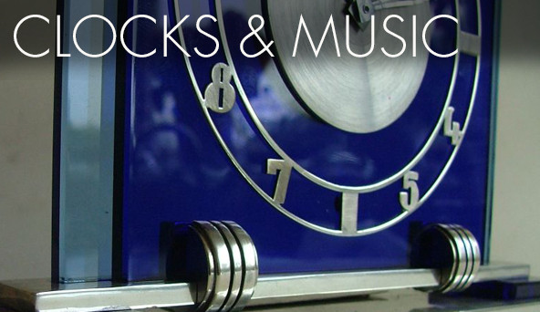 Art Deco Collection Clocks & Music