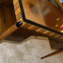 Petite French 1930′s desk vanity writing table