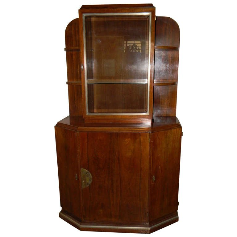 original modernist french cabinet china cabinet art deco office chair