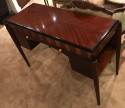 Petite French 1930's Art Deco Desk Vanity Writing Table