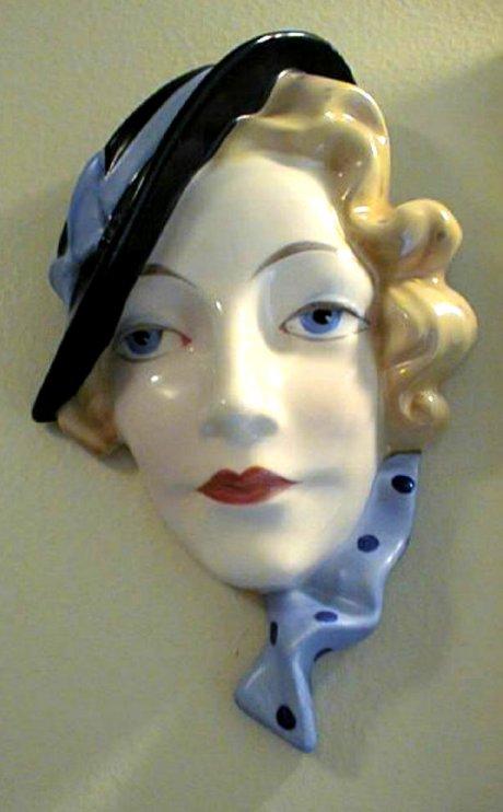 Czech Erphila Ceramic Mask