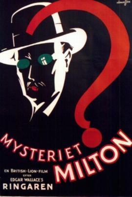 Swedish Poster Mysteriet Milton