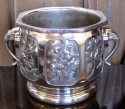 Large 1930s Art Deco Urn • Nature Relief