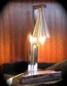 1930s Art Deco Chrome Table Lamp