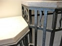Art Deco Modernist Side-Table • Macassar and Parchment