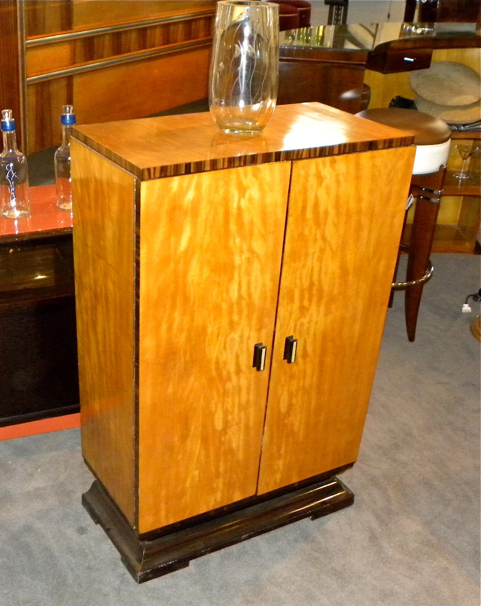 Art Deco Bar Cabinet Sold Items Bars Art Deco Collection