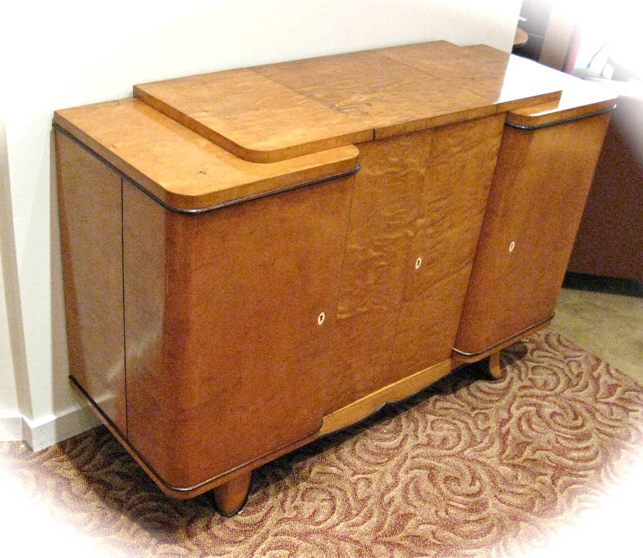 1930s Art Deco Console Bar Sold Items Bars Art Deco