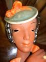 Wonderful Terra-Cotta Mask Art Deco Czech like Goldscheider