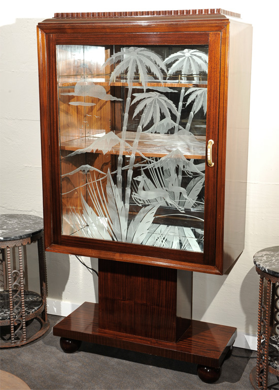 Unique Art Deco Bar Or Display Case Sold Items Dining