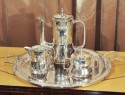 Silver Plate Coffee Set/ Arts and Crafts Era