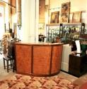 Stunning Maple & Walnut Stand Behind Art Deco Bar