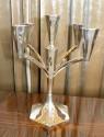 Spectacular Sterling Art Deco Modernist Candleabra