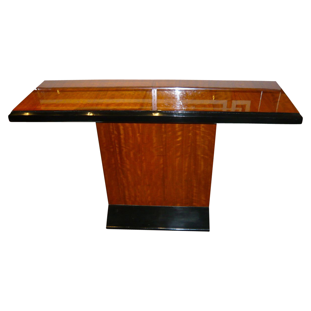 Art Deco console with a Biedermeier point of view