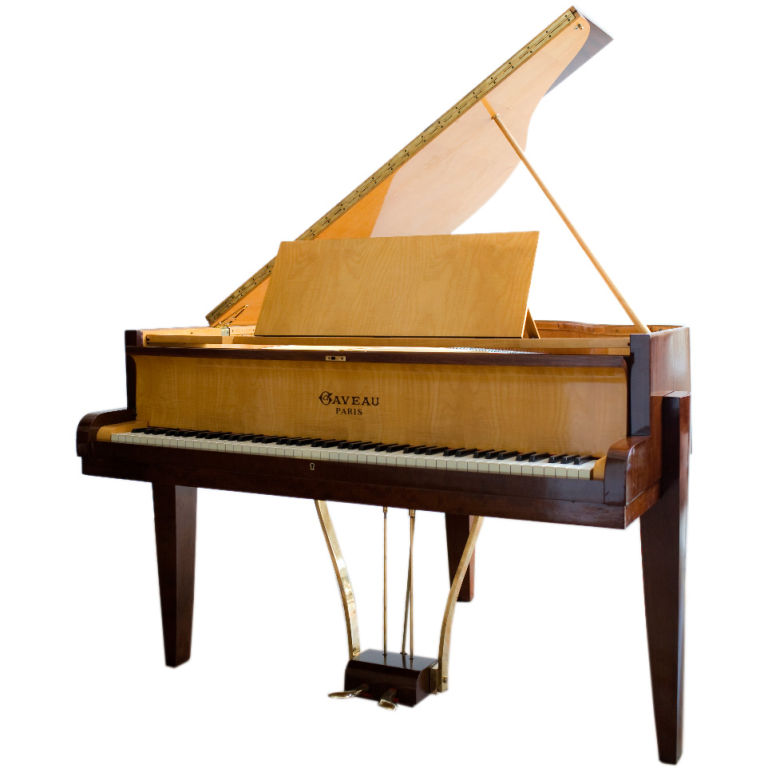 Art deco clocks and music sold pianos art deco collection for Piani art deco