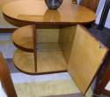 Oval Streamline Art Deco Coffee table or Mini-bar