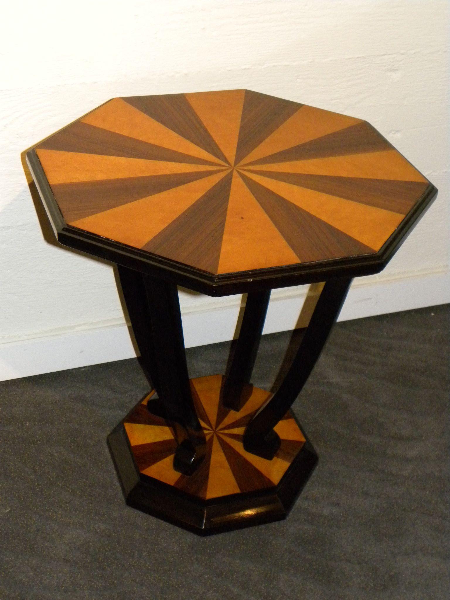 Custom Art Deco Side Table Small Tables Art Deco