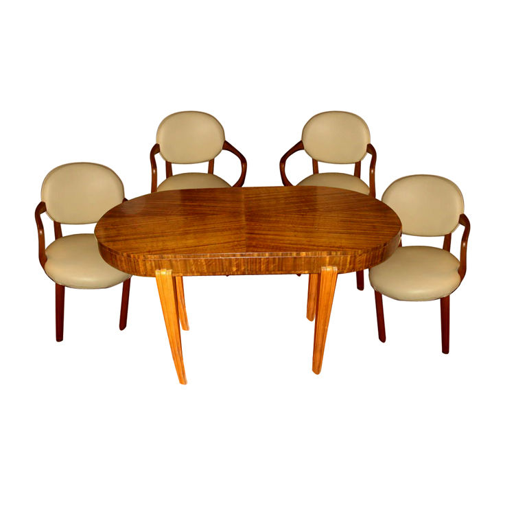 Art Deco Dining Room Furniture For Sale Tables And Chairs Art Deco