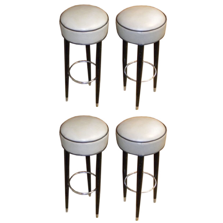 Original Art Deco Bar Stools Sold Items Seating Items  : 1415a from artdecocollection.com size 768 x 768 jpeg 58kB