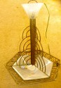 Outstanding French Art Deco chandelier by P D'Avesn