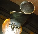 French Art Deco Modernist Piano Light possibly by Adnet