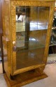 Art Deco display - curio - bar cabinet in Ruhlmann style
