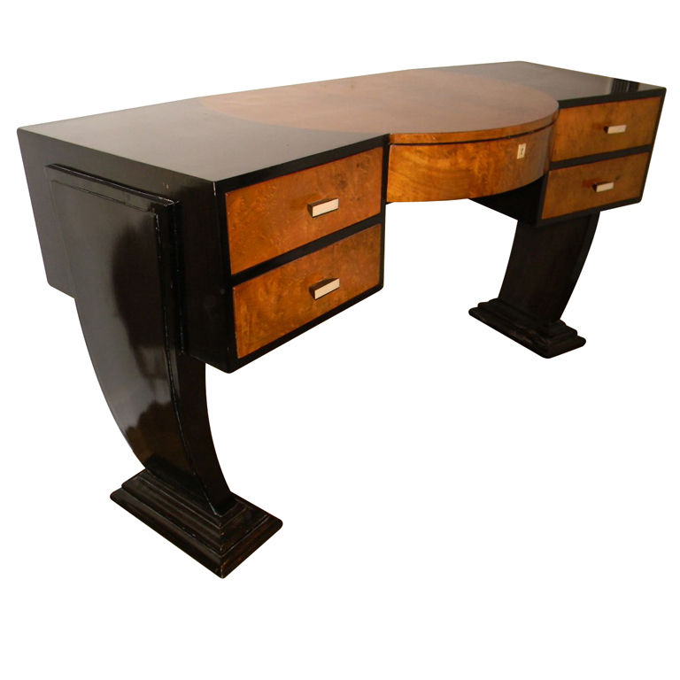 Unique Custom Original Hollywood Art Deco Inspired Desk