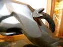 Notari Art Deco Cubist Panther sculpture