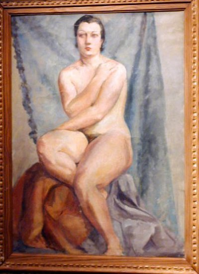 Old naked paintings of women