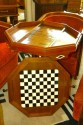 Art Deco Game table Chess Checkers Backgammon