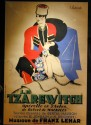 Classic large French poster with Russian theme