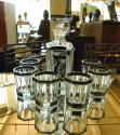 1930s Art Deco Czech Whiskey Decanter Set