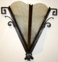 great iron sconces