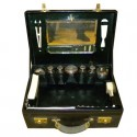 Art Deco fitted leather Dressing Box English