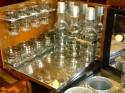 1930s American Art Deco Radio/Bar RadioBar glasses complete