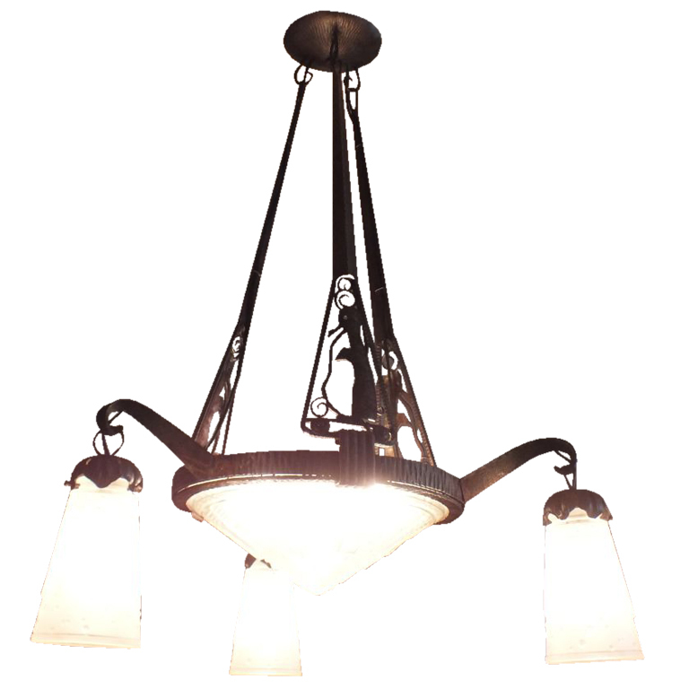 Art Deco Lighting for Sale Chandeliers – Art Deco Chandelier Lighting