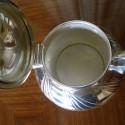 Art Nouveau Silver-plate 5 piece WMF Coffee Tea Service