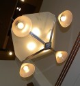 Original Art Deco Chandelier, sophisticated design circa 1930′s