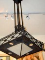 Nice French iron chandelier