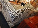 Zebra sofa suite