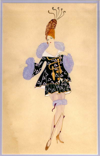 Woman in Fancy Costume