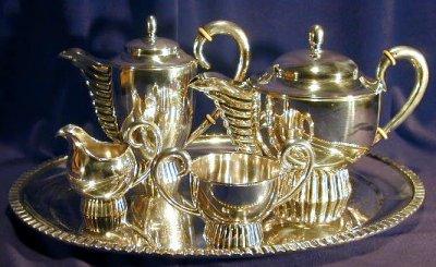 Elegant Silver Coffee/Tea Service