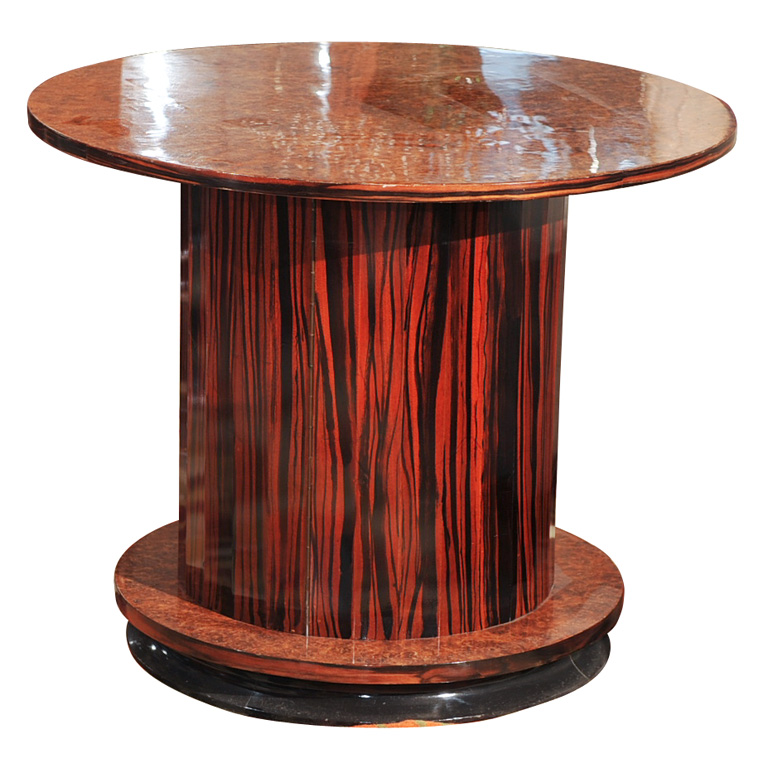 Art Deco Fluted Side Bar Table
