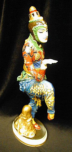 Ceramic Figure of Nijinski