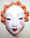 Heavy terra-cotta mask