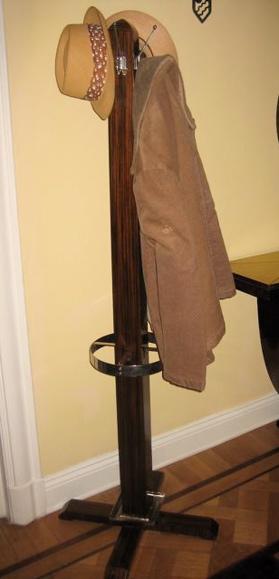 Macassar Coat and Umbrella Stand