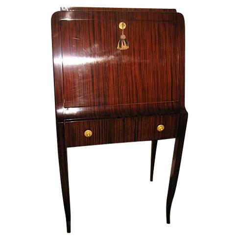 Art Deco Custom Rosewood Secretary