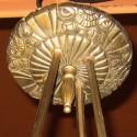 1930s Art Deco Eight Light Chandelier