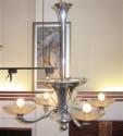 1940s French Art Deco Chandelier