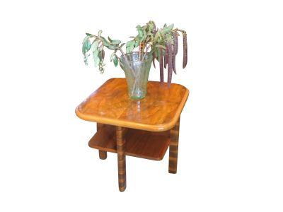 1930s French Art Deco Bi-Level Coffee Table